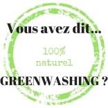 Vous avez dit Greenwashing